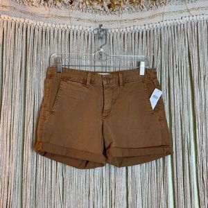 Anthropologie/Chino Relaxed Fit Rolled Chino Short